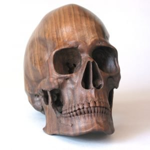 walnut skull2